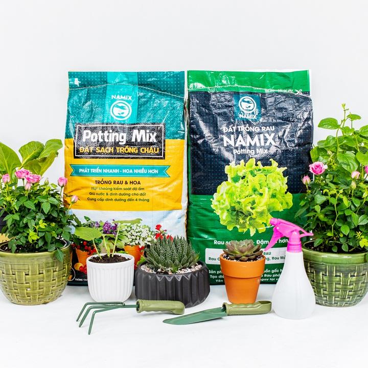 Sản phẩm đất trồng Namix.